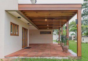 עיצוב דירות גן ובחירה נכונה של פרגולות